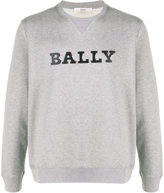 Bally 3D-effect logo sweatshirt