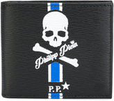 Philipp Plein bi-fold print wallet - men - Calf Leather - One Size