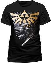 Nintendo Men's The Legend Of Zelda Link T-shirt
