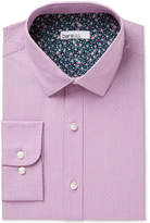 Bar III Men's Slim-Fit Stretch Houndstooth Dot Dress Shirt Created for Macy's