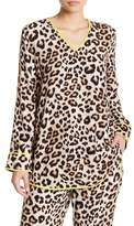 Equipment Dalton Silk Leopard Tunic