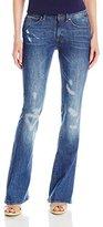 G Star Women's 3301 High Rise Flare Leg Jean in Hadron Stretch Denim