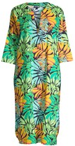 Vilebrequin Fare Tropical Leaf-Print Midi Coverall
