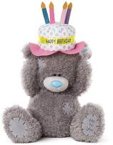 Me To You Happy Birthday Hat Bear Medium