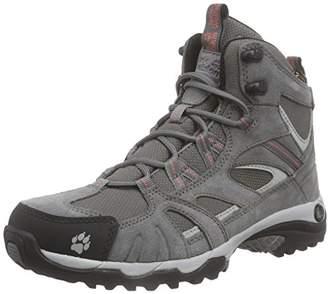 Jack Wolfskin Vojo Hike Mid Texapore Women High Rise Boots, Grey (Grapefruit 2037)