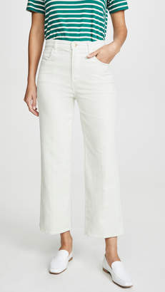 J Brand Joan High Rise Crop Corduroys