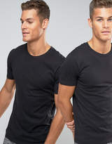 Levi's Levis Crew Neck T-Shirt In 2 Pack In Regular Fit