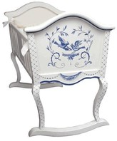 The Well Appointed House Hand Painted Songbirds Cradle