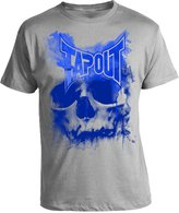 Tapout Skull Drip Adult T-shirt (, Grey)