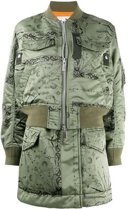 Sacai Longline Bomber Jacket