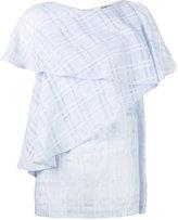 Chalayan cascade valance blouse