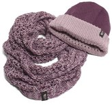 The North Face Women's The Shinsky Knitting Club Boxed Infinity Scarf & Beanie - Grey