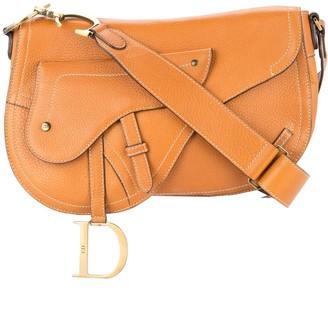 Christian Dior Pre Owned saddle shoulder bag