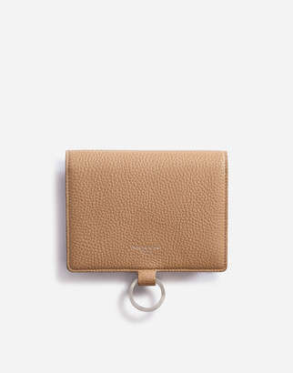 Dolce & Gabbana Large Wallet With Cross-Body Strap In Mini Dollaro Calfskin