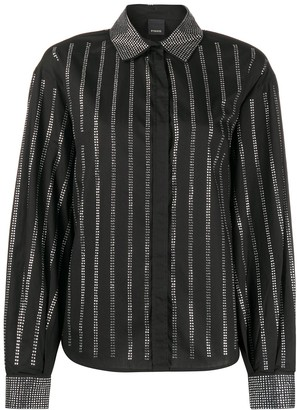 Pinko Crystal Embellished Shirt