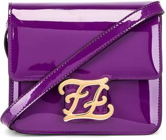 Fendi Karligraphy Mini Bag in Purple | FWRD