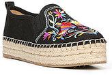 Sam Edelman Carrin 2 Embroidered Slip-On Platform Espadrilles