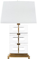 Crystalline Table Lamp - Clear/Brass - Bradburn Home
