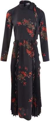 RED Valentino Flower Print long dress