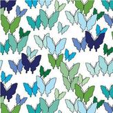 Avalisa Butterfly Pattern Stretched Print