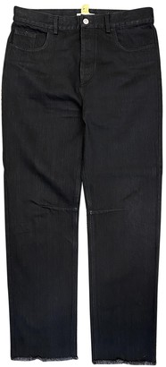 Celine Black Cotton Jeans