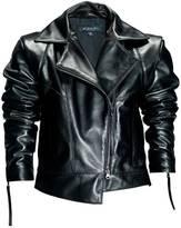 Leka Black Leather Jacket