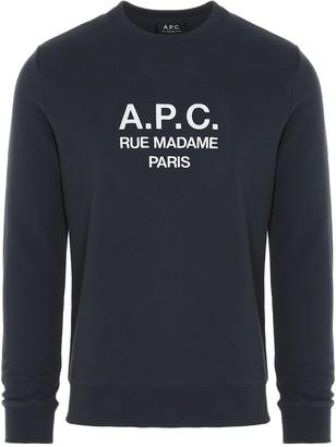 A.P.C. Rufus Logo Sweatshirt
