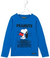 Finger In The Nose boxing Peanuts print T-shirt