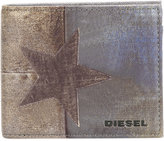 Diesel star cardholder - men - Polyurethane/copper - One Size