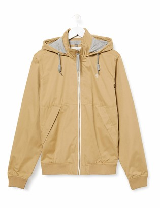 Springfield Men's 4so-Chaqueta Rib+hood-c/54 Track Jacket