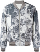 Maison Margiela Kaban bomber jacket - men - Silk/Cotton/Viscose - 48