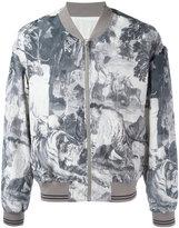 Maison Margiela Kaban bomber jacket - men - Silk/Cotton/Viscose - 48