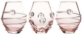 Juliska 3-Piece Amalia & Florence Assorted Mini Glass Vases