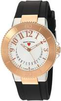 Swiss Legend Women's 'Riviera' Quartz Stainless Steel and Silicone Automatic Watch, Color: (Model: 11315SM-SR-02)