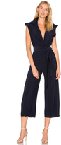 Norma Kamali Sleeveless Cropped Jumpsuit