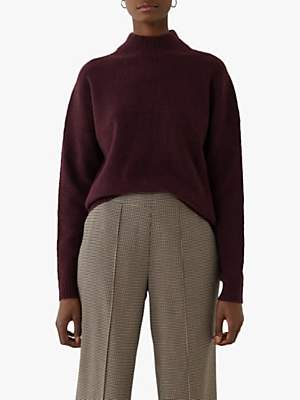 Warehouse Cosy Skinny Ribbed Jumper