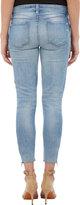"Genetic Denim The James Crop"" Zip-Ankle Jeans"
