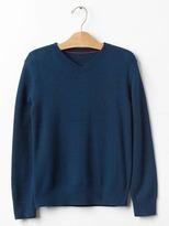 Gap Solid V-neck sweater