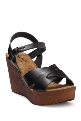 Seychelles Provision Wedge Heel Leather Sandal