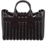 Paco Rabanne Leather Chainmail Tote