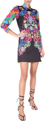 Versace Jeans Couture Round Neck Dress
