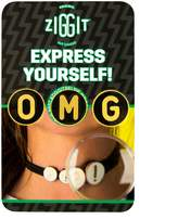Ziggit - OMG - Set of 3 - For Clothes/Shoelaces/Chokers/Bras/Bikinis/Headbands/Belt Loops/Anything Else You Can Think Of!