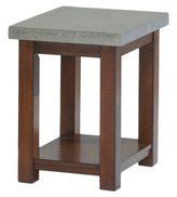 Progressive Cascade Nutmeg Birch/ Cement Chairside Table