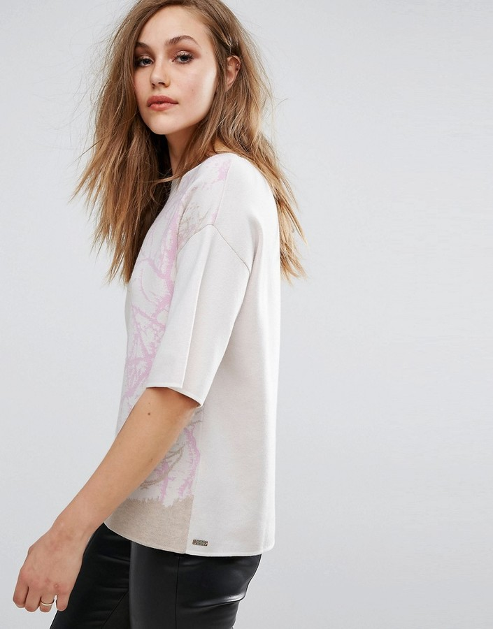 BOSS ORANGE Izana Printed Knit
