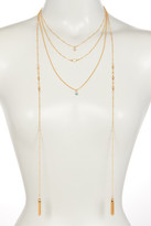 Stephan & Co Tasseled Layering Necklace