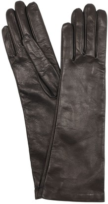 Mario Portolano Long Leather Gloves