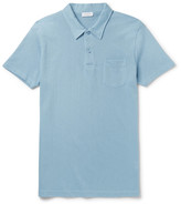 Sunspel - Riviera Slim-fit Cotton-piqué Polo Shirt