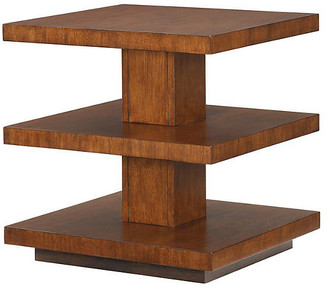 Tommy Bahama Lagoon 3-Tier Side Table - Tawny