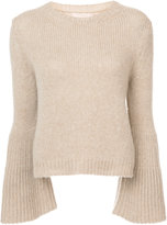 Brock Collection flared sleeve cashmere jumper