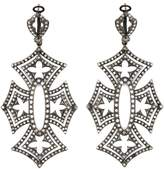 Loree Rodkin 'Shadow Cross' diamond earrings